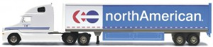Picture of a northAmerican moving truck