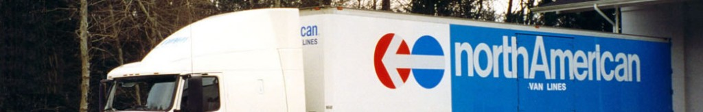 A photograph of a Capitol northAmerican moving van