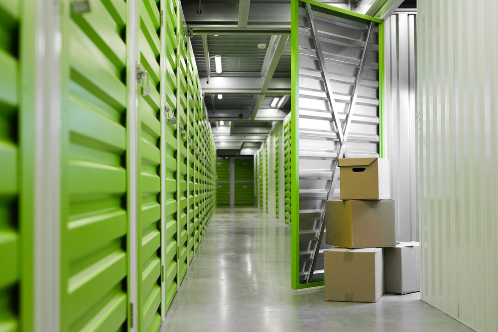 Commercial storage cost in green storage units